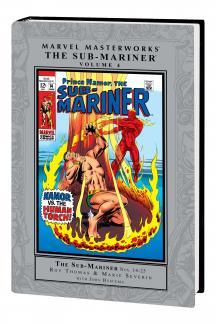 Marvel Masterworks: The Sub-Mariner Vol. 4 (Hardcover)