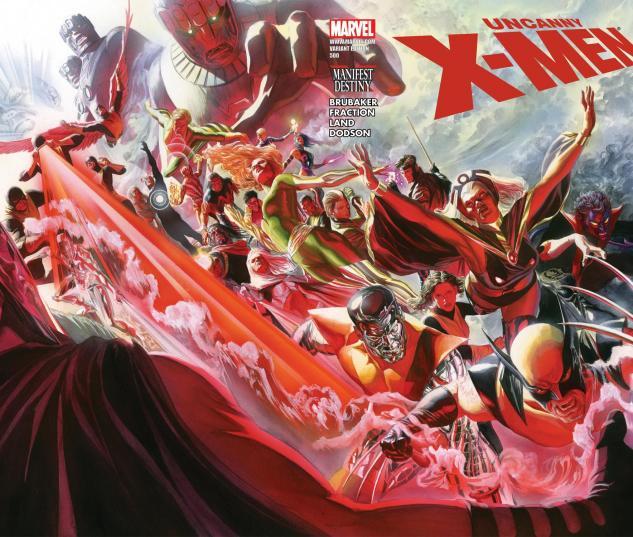 Uncanny X-Men (1963) #500, ROSS WRAPAROUND