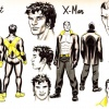 Sunspot &amp; X-Man sketch art by David Lopez