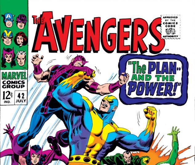 Avengers (1963) #42 cover