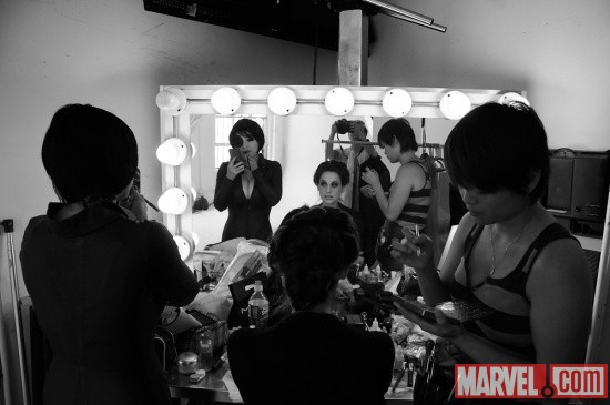 Cosplay Photo Shoot: the ladies get ready