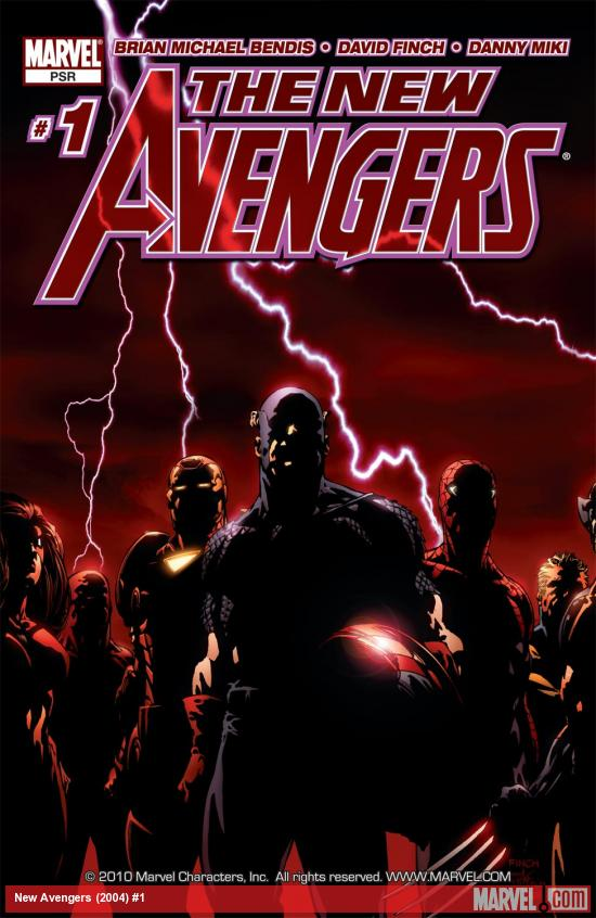 New Avengers (2004) #1