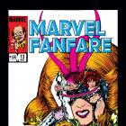 Marvel Fanfare (1982) #13 Cover