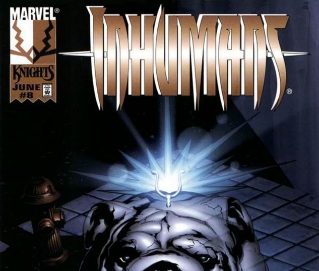 Inhumans (1998) #8 Cover
