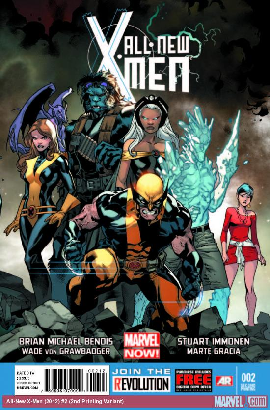 ALL-NEW X-MEN 2 2ND PRINTING VARIANT