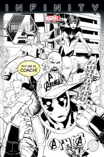 Mighty Avengers #1  (Barberi Party Sketch Variant)