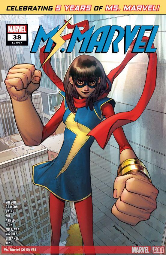 Ms. Marvel (2015) #38