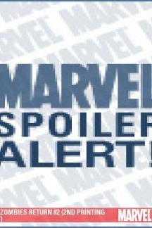 Marvel Zombies Return (2009) #2 (2ND PRINTING VARIANT)