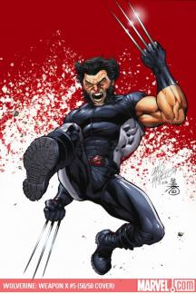 Wolverine Weapon X (2009) #5 (50/50 COVER)