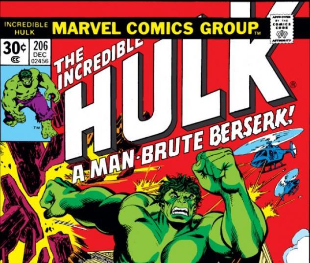 INCREDIBLE HULK (2009) #206 COVER