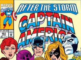 CAPTAIN AMERICA #401 COVER