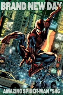 Amazing Spider-Man #546  (Hitch Variant)