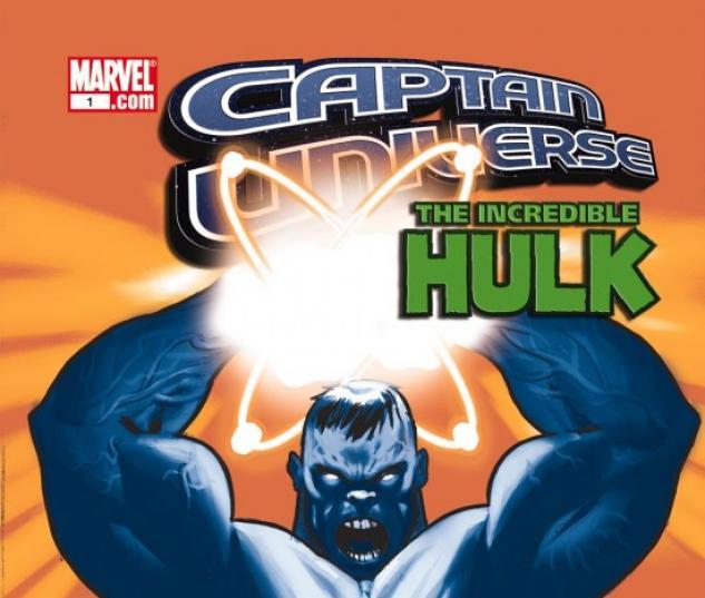 CAPTAIN UNIVERSE (2007) #3 COVER