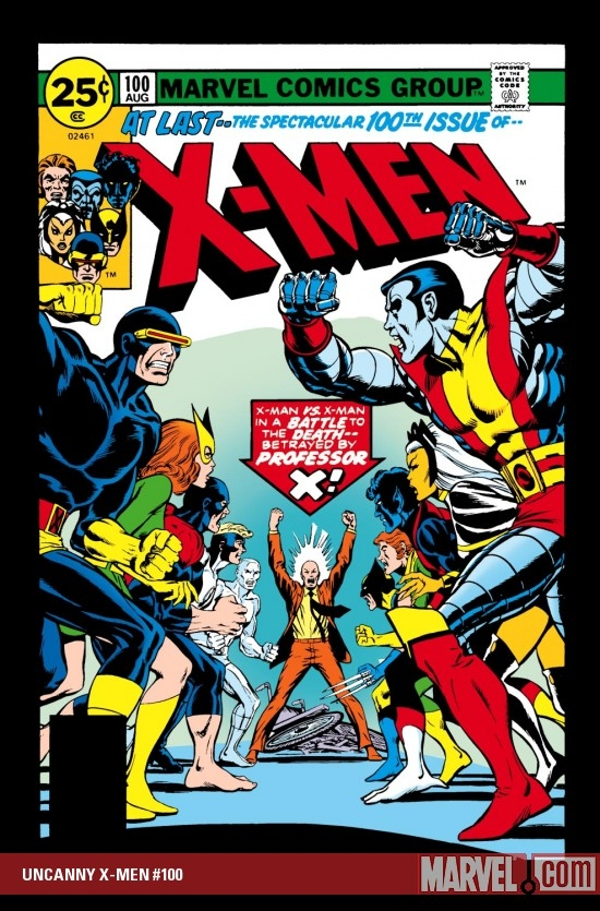 Uncanny X-Men (1963) #100