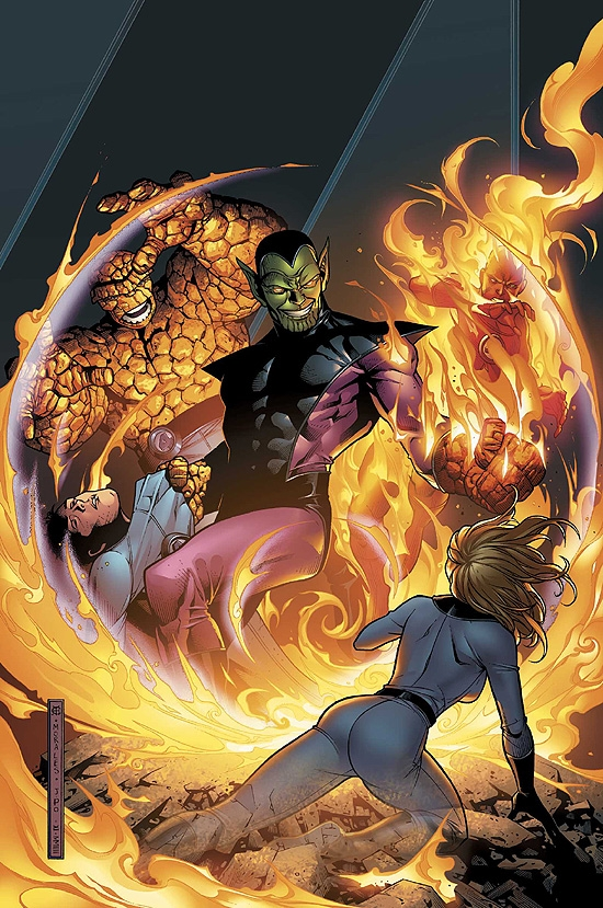 FANTASTIC FOUR: FOES (2006) #3 COVER