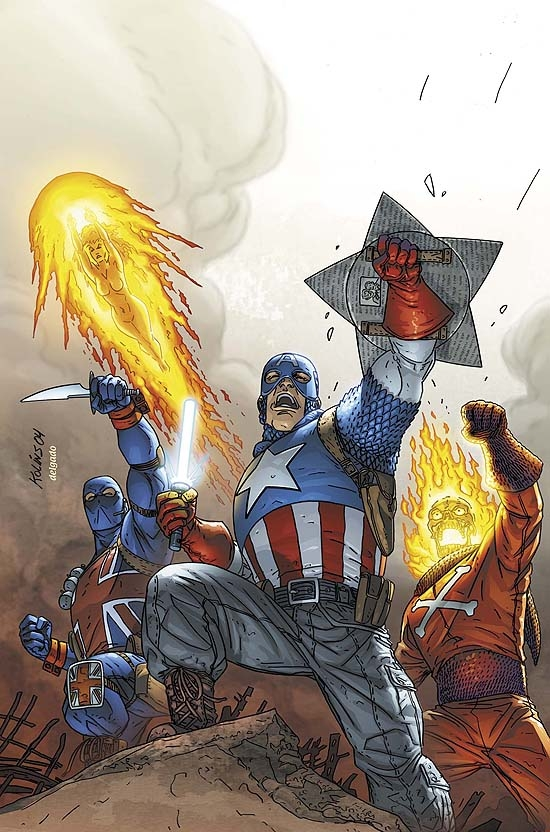 INVADERS (2004) #2 COVER