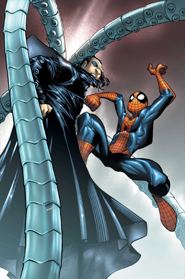 SPECTACULAR SPIDER-MAN (2003) #9 COVER