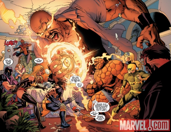 NEW AVENGERS #2 preview art by Stuart Immonen