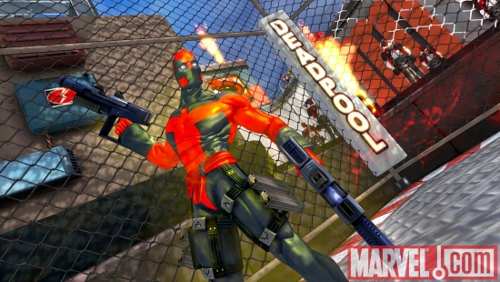 Deadpool from the Ultimate universe in