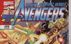 Image Featuring Hawkeye, Vision, Thunderbolts, Mach IV, Avengers