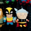 Wolverine and Thor plush toys from Funko at Toy Fair 2011
