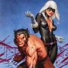 WOLVERINE &amp; BLACK CAT:  CLAWS 2 #1 cover