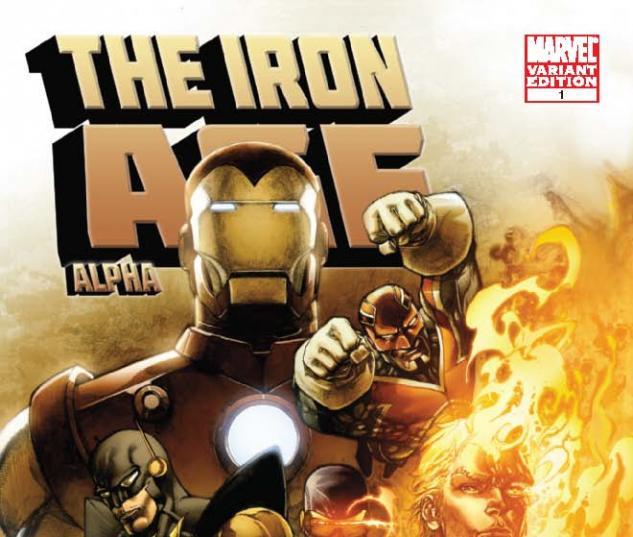 Iron Age: Alpha (2010) #1, Segovia Variant