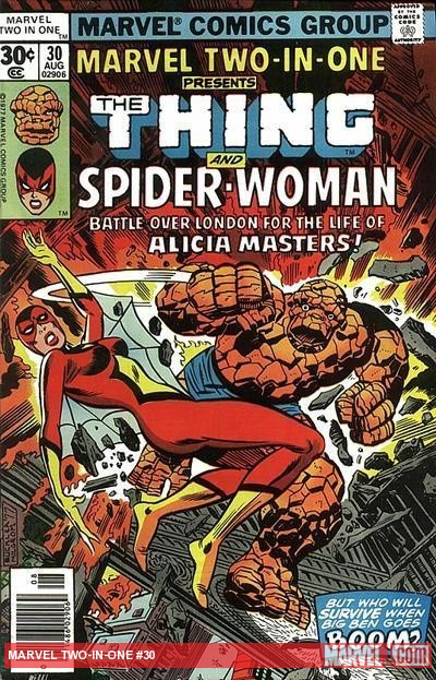 Marvel Two-in-One #30 cover