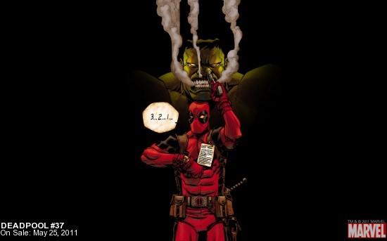 Deadpool #37 Wallpaper