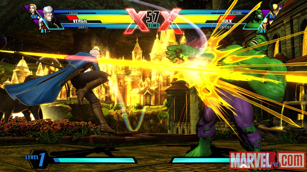 Ultimate Marvel vs. Capcom 3 Vergil Screenshot 3