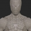 Details from The Amazing Spider-Man Figure (Digitally Sculpted by Gentle Giant Studios)