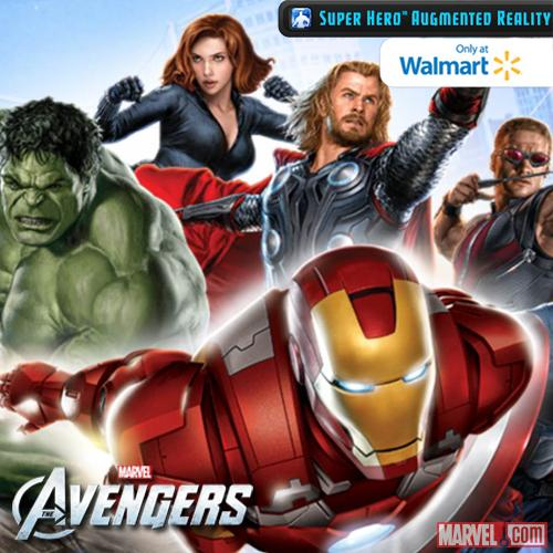 Super Hero Augmented Reality App