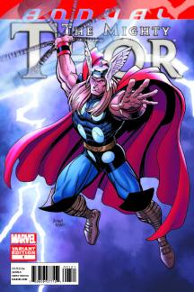 THE MIGHTY THOR ANNUAL (2011) #1 (Adams Variant)