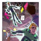 Alpha: Big Time #1 preview art by Nuno Plati