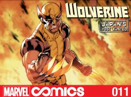 Wolverine: Japan's Most Wanted #11 cover by Paco Diaz