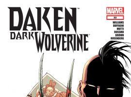 DAKEN: DARK WOLVERINE (2010) #22 Cover