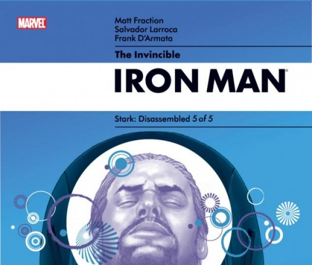 INVINCIBLE IRON MAN #24  Cover by Salvador Larroca