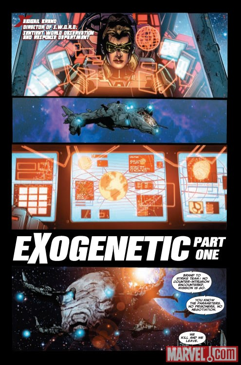 Astonishing X-Men #31 Preview Page