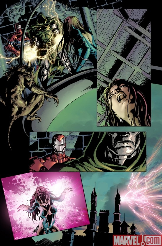 DARK AVENGERS #4 preview art by Mike Deodato