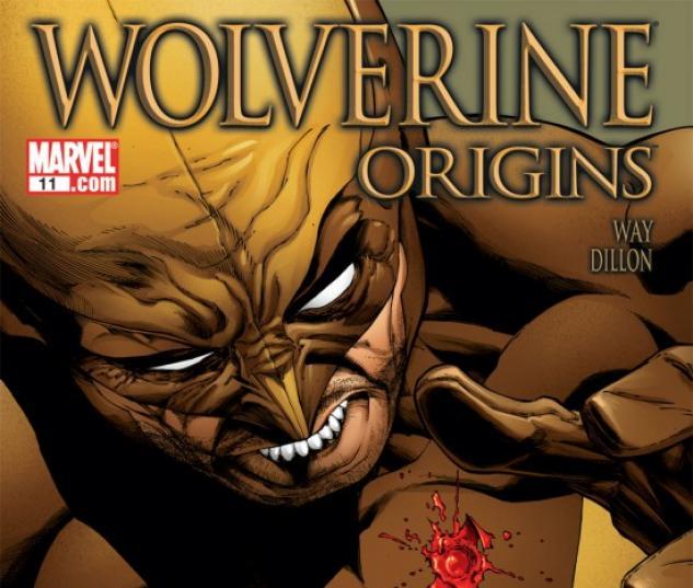 WOLVERINE: ORIGINS (2008) #11 COVER