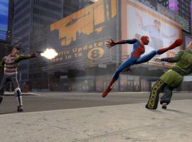 Spider-Man vs. thugs