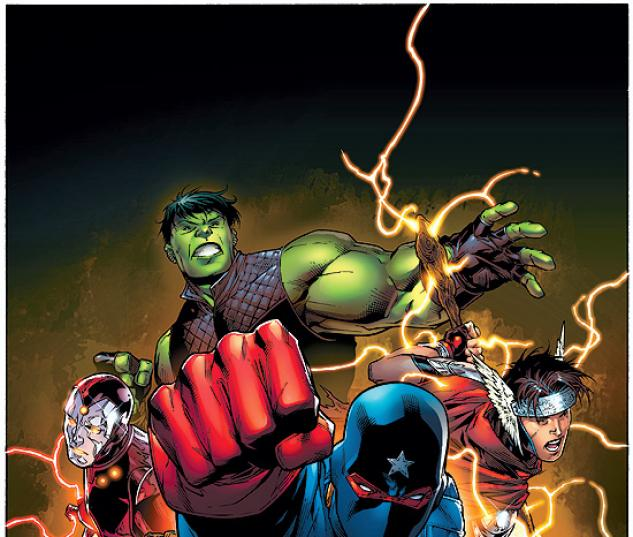 YOUNG AVENGERS (2007) #1 (DIRECTOR'S CUT) COVER