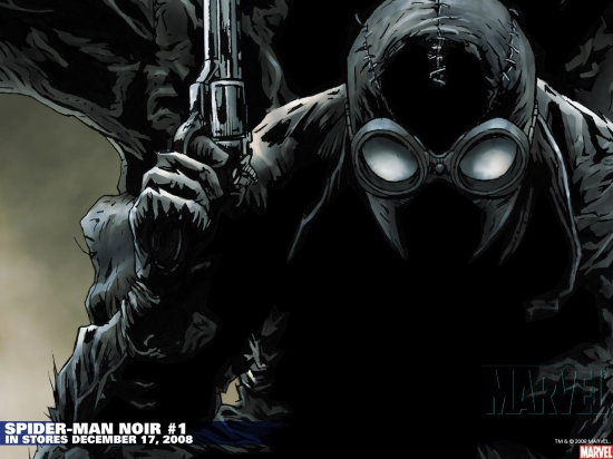 Spider-Man Noir (2008) #1 Wallpaper
