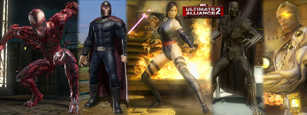 Marvel: Ultimate Alliance 2 DLC Available Now