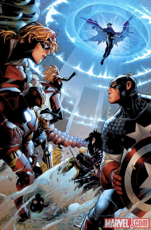 AVENGERS: THE CHILDREN'S CRUSADE #1 preview art by Jim Cheung 6