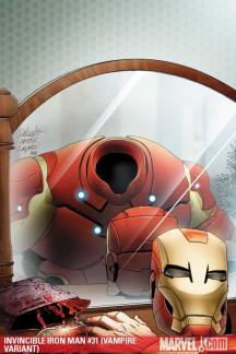 Invincible Iron Man (2008) #31 (VAMPIRE VARIANT)