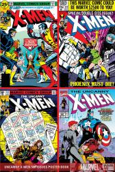 Uncanny X-Men 500 Issues Poster Book #1