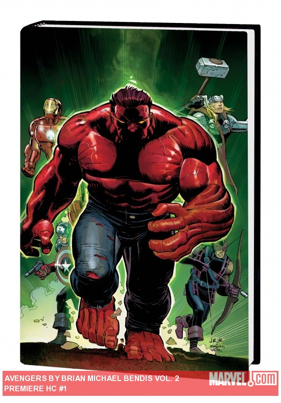 AVENGERS BY BRIAN MICHAEL BENDIS VOL. 2 PREMIERE HC cover