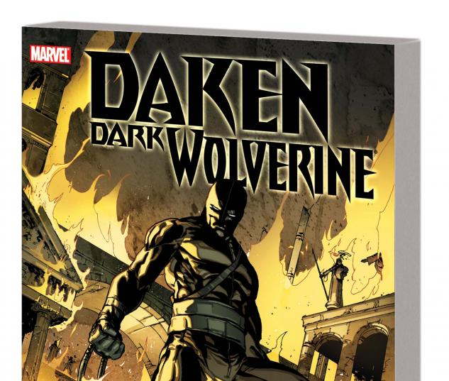 DAKEN: DARK WOLVERINE  EMPIRE TPB cover