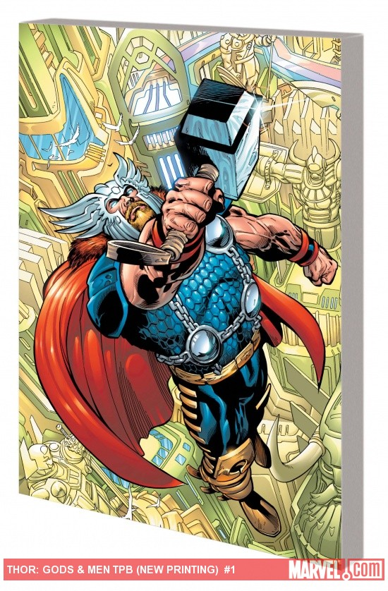 THOR: GODS & MEN TPB (NEW PRINTING) cover